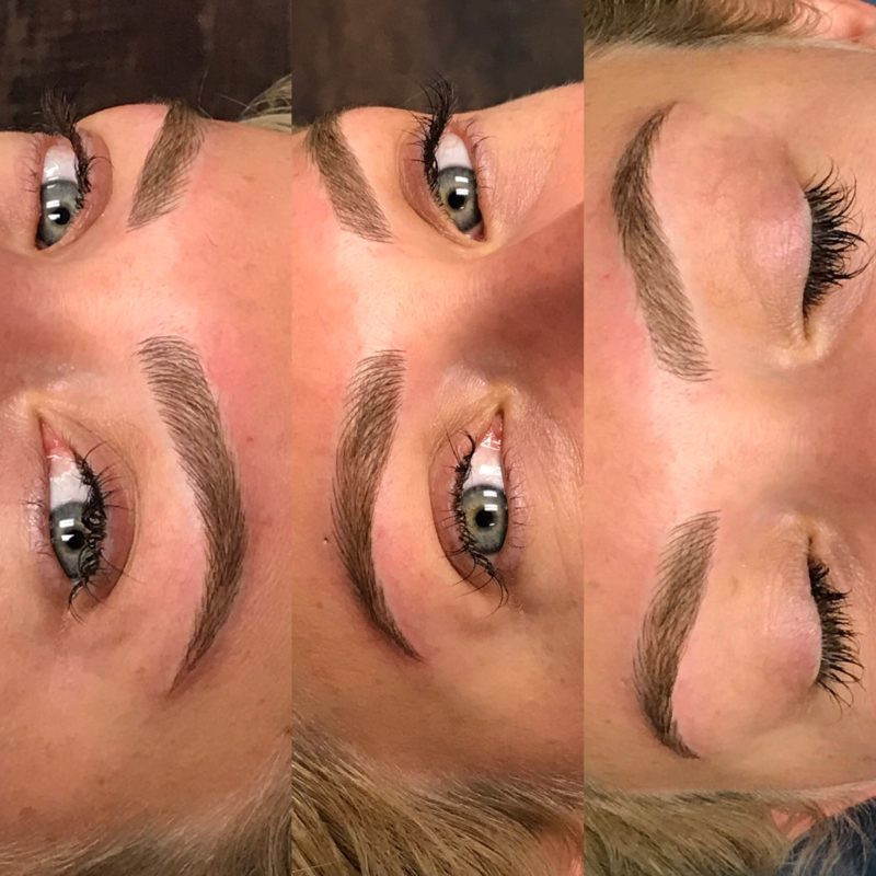 How To Get Perfect Brows Every Day // Microblading Process & Before and Afters