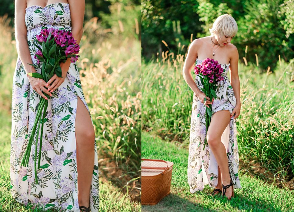 Plum Pretty Sugar Maxi Floral Dress by Atlanta fashion blogger Chelissima