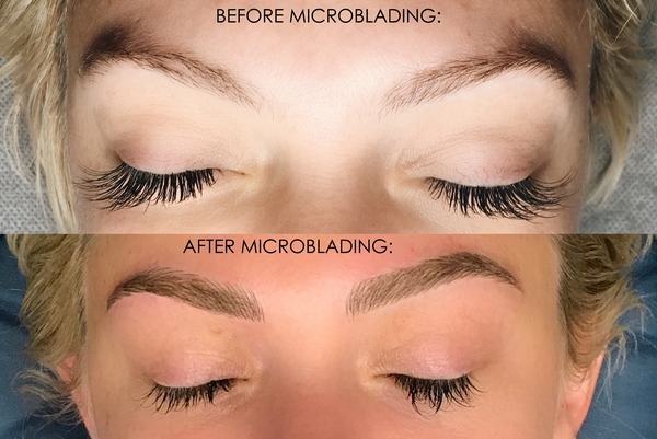 BEFORE - Copy words - How To Get Perfect Brows Every Day: Microblading Process & Before and Afters by Atlanta style blogger Chelissima