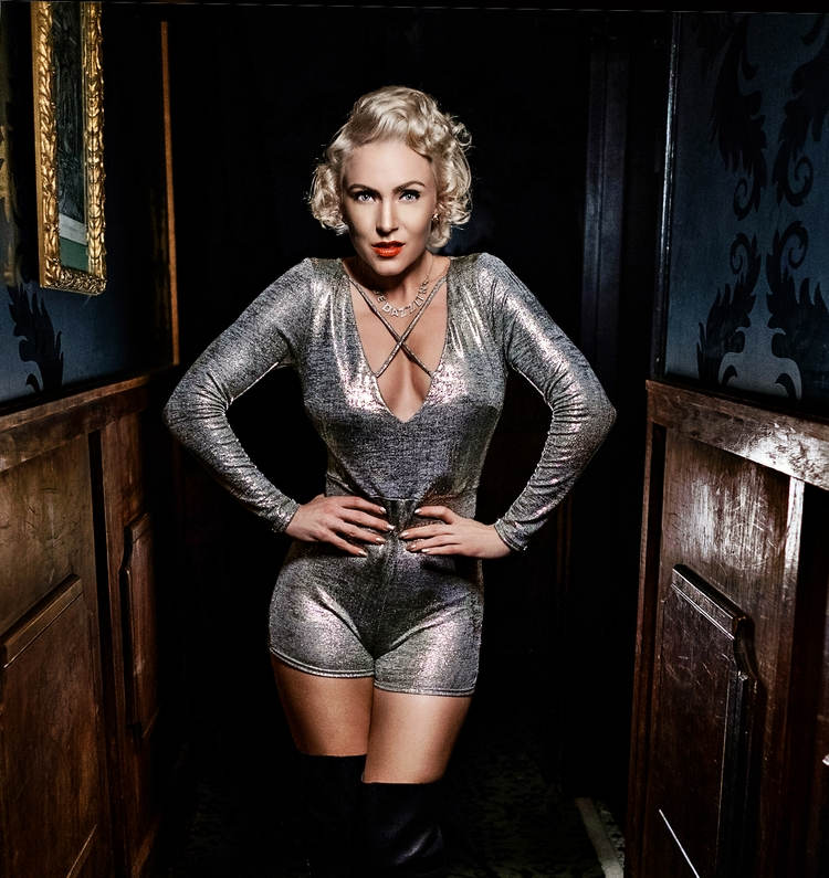 Modern Day Marilyn Photos at Supply & Demand Speakeasy | Atlanta Actor