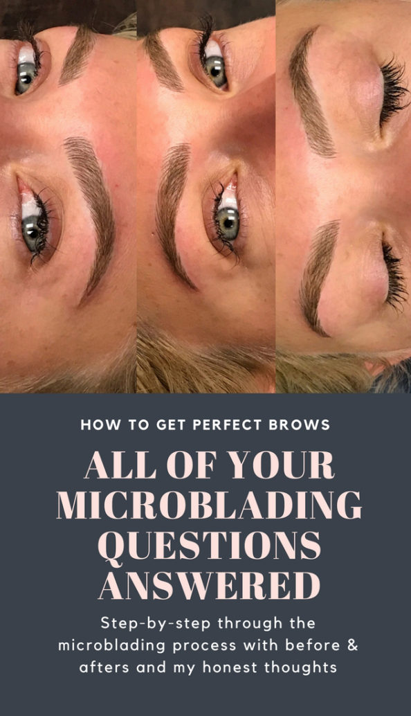 How To Get Perfect Brows Every Day: Microblading Process & Before and Afters by Atlanta style blogger Chelissima